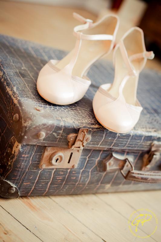 mariage retro valise