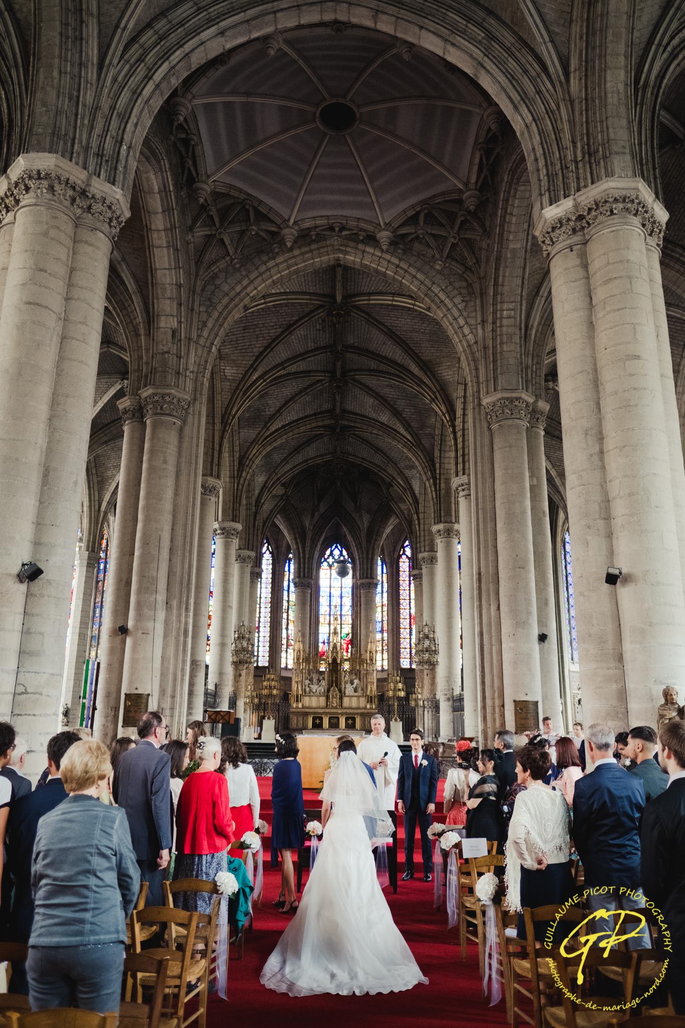 mariage église Saint Maurice Lille (1 sur 109)
